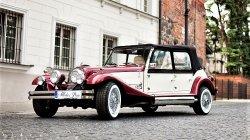 RETRO samochód zabytkowy do ślubu Luxusowy cabriolet na wesele Sokołów Podlaski