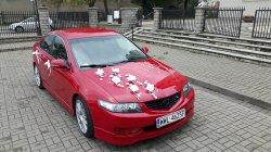 Czerwona Honda Ząbki