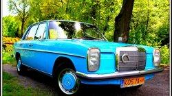 Auto Zabytkowe Mercedes W115 do ślubu i na inne uroczystości Kęty