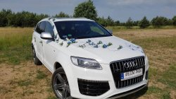 AUDI Q7 6.0 V12 Jedyny Taki Samochód do ślubu, ślubny, na wesele Gniazdów