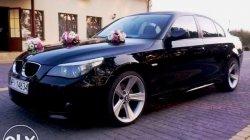 Auto do ślubu BMW E60 - M pakiet Warka