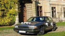 Amerykańska limuzyna do wynajecia, auto do ślubu. Buick Park Avenue Zamość