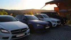 Audi RS 6, Mercedes GLC 220d Coupé, Mercedes CLS 350d  Nowy Sącz