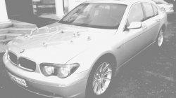 Srebrne BMW 745i FULL automat.domykane drzwi Laski