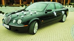 Auto do ślubu Jaguar S Opole