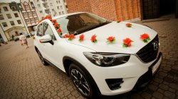 Samochód Auto do ślubu Mazda CX-5, Gdańsk, Gdynia, Sopot, Elbląg Gdańsk