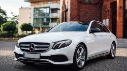 Najnowszy Biały Mercedes Klasy E Model 2017   Katowice