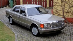 Mercedes S-klasa zabytkowy Tłuszcz