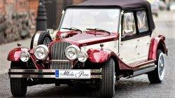 Zabytkowy kabriolet do ślubu Nestor Spider Auto RETRO na wesele Radom