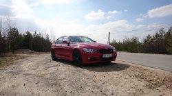 CZERWONE BMW SERIA 3 M-PAKIET OLKUSZ