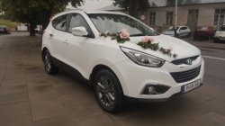 Elegancki samochód do ślubu Hyundai ix35 Zamość