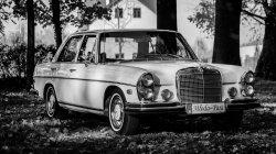 Zabytkowy Mercedes S-klasa  Slub Wesele Wrocław