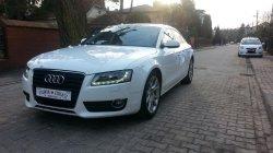 Białe Audi A5 Nieporęt