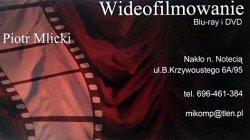 Wideofilmowanie + fotografia plenerowa Nakło nad Notecią