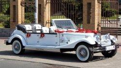 Samochody do ślubu Alfa Romeo Spider Kabriolet Nestor Baron na wesele Warszawa