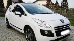 Peugeot 3008 na ślub Kościan
