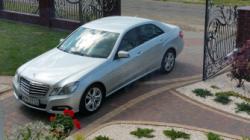 Samochód do ślubu, Płock Mercedes E Płock