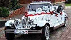 RETRO kabriolet do ślubu Zabytkowy samochód na wesele Luksusowe auta Białowieża