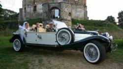 Auto do ślubu retro  ząbki