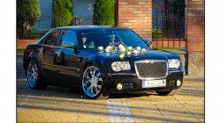 BENTLEY Chrysler 300C do ślubu Samochody zabytkowe Nestor Baron Łuków