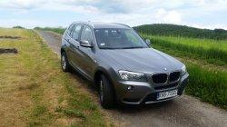 BMW X3 na ślub rocznik 2012, 4x4 Łososina Dolna