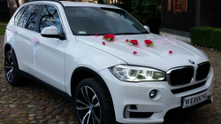 Auto do Ślubu - BMW X5 F15 - nowy model Wieluń