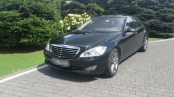 Mercedes S Class Long 5,5l V8 Wolne terminy! Gostynin