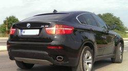 Luksusowe BMW X6 w czarnym kolorze Warszawa