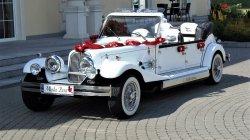 Wypożyczalnia zabytkowych samochodów do ślubu RETRO Cabrio na wesele Ożarów Mazowiecki