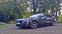 Audi A5 S-LINE, SZARA PERŁA!!! Z przystrojeniem!!!  Zawiercie