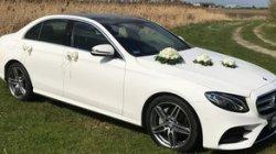 Piękny samochód do ślubu. Auto na ślub Mercedes AMG Biały Piątek