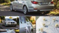 Auto do ślubu, LIMUZYNA BMW 530d E60 + strojenie + kamerka Wejherowo