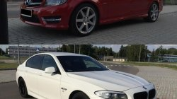 Auto Samochód do ślubu BMW 5 F10 MERCEDES C Coupe Radom i okolice Radom
