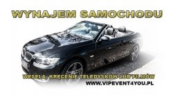 BMW Cabrio Ślub Katowice Katowice