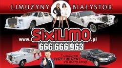 Limuzyna za DARMO / Excalibur - Rolss -  Princes -  Linconl  Białystok