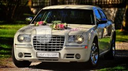 Just Married Chrysler 300c auto do ślubu wolne terminy 2018 !  Rzeszów