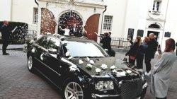 Bentley style * CHRYSLER 300C * Amerykańska Limuzyna do Ślubu Bydgoszcz
