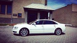 Do Ślubu Audi A8 Long 4,2 Benzyna.Wynajem, Wesele Najniższa cena ! Pyskowice