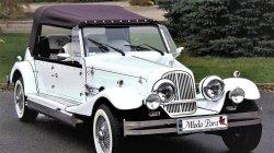 Luksusowe samochody do ślubu Kabriolet RETRO na wesele Nestor Baron Włodawa