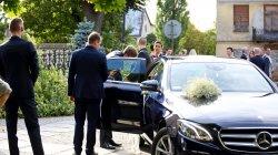 Mercedes E-klasa 2016 rok ; pełny transport gości! (bus, autobus) Łomża