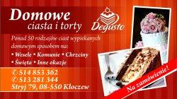DEGUSTO domowe ciasta Żelechów
