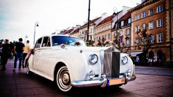 Rolls-Royce Silver Cloud, Bentley S2, Austin Princess, kabriolet  Warszawa