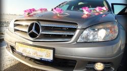 Złoty mercedes klas C do ślubu  Pobiedziska
