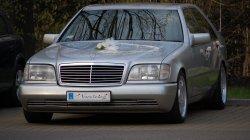 Kultowy Mercedes W140 Chorzów
