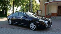 Samochód do ślubu, CITROEN C6, limuzyna prezydenta Francji  Toruń