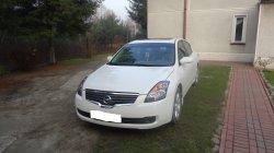 Nissan Altima 2009 w pięknym kolorze Białym Perłowym Tarnów