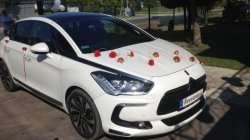 Samochód do ślubu, auto na wesele - Citroen DS5 biała perła  Jerzmanowice