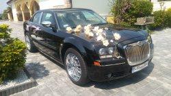 Chrysler 300C auto do ślubu  Glinojeck