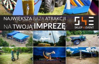 Sklep4event atrakcje na imprezy Bielsko-Biała