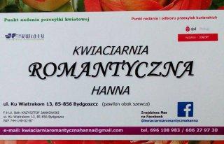 KWIACIARNIA ROMANTYCZNA HANNA Bydgoszcz